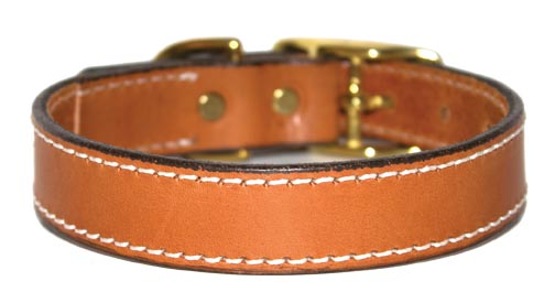 Premium Leather Dog Collars by Leather Brothers