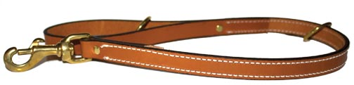 Premium Leather Leads by Leather Brothers