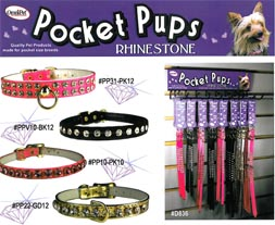 Pocket Pups Collars for Small Dogs