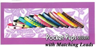 Pocket Pups Ribbon Dog Collars