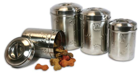 Stainless Canister Set