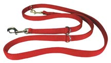 Red Nylon European Lead