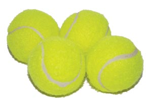 Leather Brothers Tennis Balls
