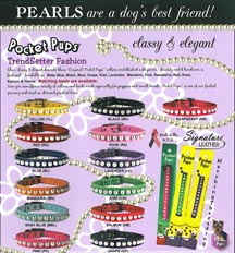 Pocket Pup Collars for Small Dogs